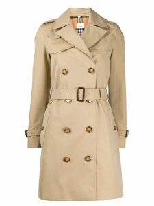 Burberry mid-length trench coat - Neutrals