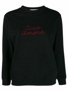 Giada Benincasa Ciao Amore sweatshirt - Black
