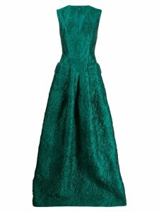 Talbot Runhof Momo dress - Green