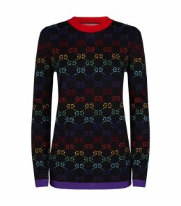 Rainbow GG Sweater