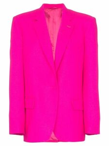 Attico single-breasted oversize blazer - Pink