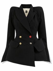 Aganovich double breasted tailored blazer - Black