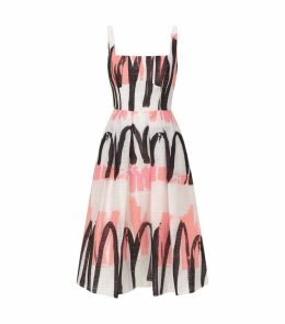 Camilla Printed Midi Dress