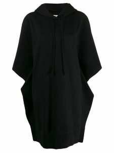 Mm6 Maison Margiela oversized hoodie dress - Black