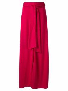 Layeur tie waist skirt - Pink