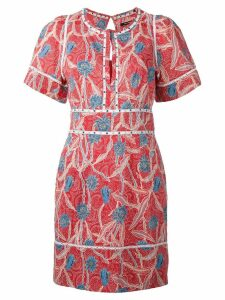Isabel Marant printed Umbria dress - Red