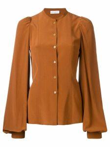 Sonia Rykiel bell sleeved blouse - Brown