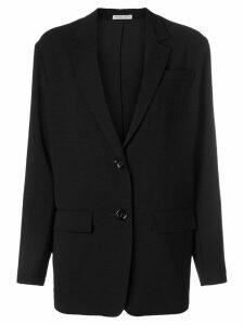 Bottega Veneta longline blazer - Black