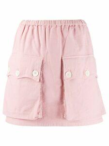Nº21 mini skirt - Pink
