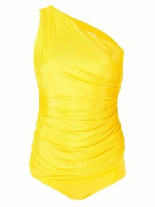 Alexandre Vauthier one-shoulder bodysuit - Yellow