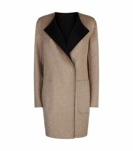 Talia Reversible Cashmere Coat