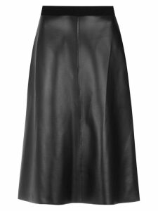 Osklen panelled midi skirt - Black