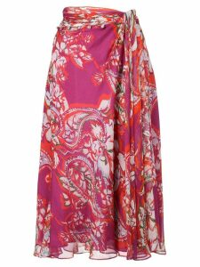 Prabal Gurung new sarong skirt - Pink