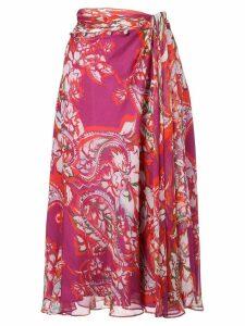 Prabal Gurung new sarong skirt - Pink