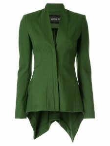Kitx zipped fitted blazer - Green