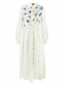 Loewe Paula striped dress - White