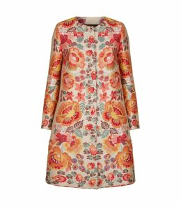 Rosemont Jacquard Floral Coat