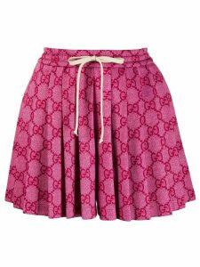 Gucci GG jacquard skort - Pink