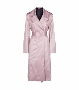 Cotton Chintz Trench Coat