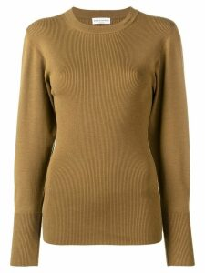 Sonia Rykiel ribbed knit jumper - Brown