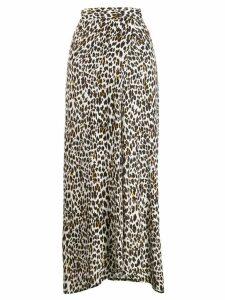 Andamane leopard print skirt - Brown