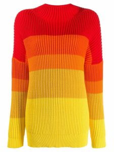Chinti & Parker ribbed oversized sweater - Red