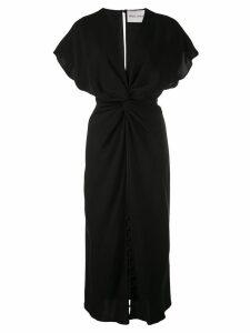 Prabal Gurung Jackie knot detail dress - Black