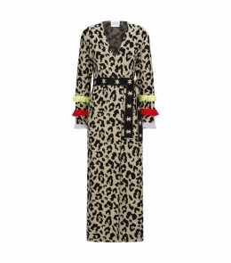 Sahara Leopard Print Belted Duster