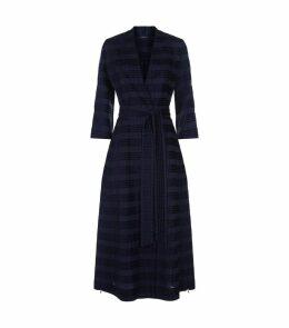Square Jacquard Overcoat