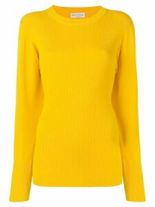 Sonia Rykiel ribbed knit jumper - Yellow