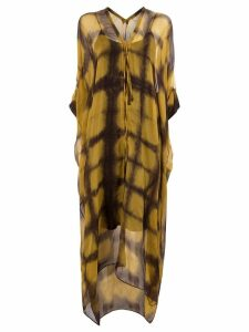Masnada printed maxi dress - Multicolour
