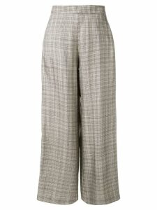 Layeur checked tailored trousers - Grey