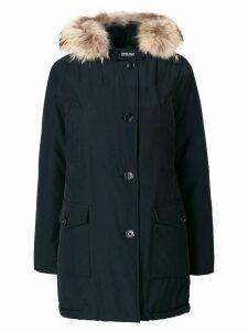Woolrich fur hood trim parka - Blue