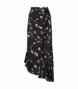 Daria Floral Midi Skirt