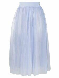 Adidas tulle midi skirt - Blue