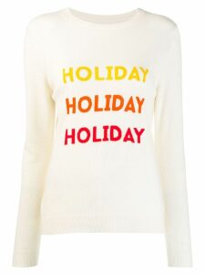 Chinti & Parker Holiday sweater - White