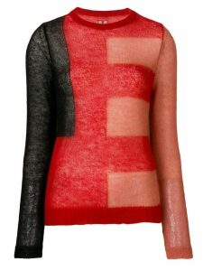 Rick Owens knitted jumper - Red
