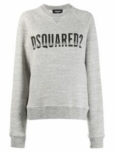 Dsquared2 logo print sweatshirt - Grey