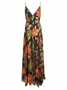 Haney Michelle floral-jacquard dress - Black