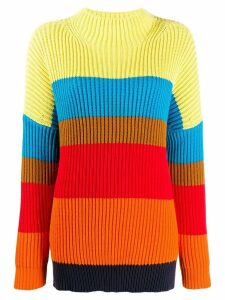Chinti & Parker oversized ribbed sweater - Red