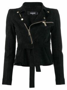 Dsquared2 velvet biker blazer - Black
