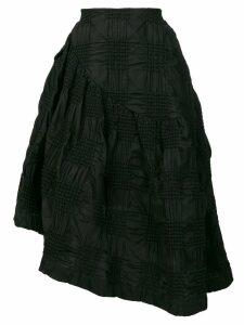 Simone Rocha cloqué skirt - Black