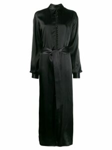 Mm6 Maison Margiela shirt dress - Black