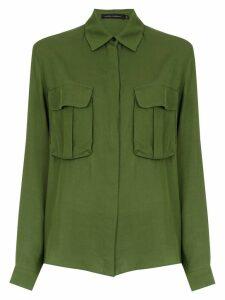 Andrea Marques loose fit shirt - Green