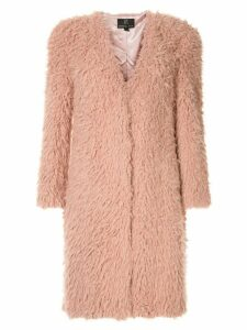 Unreal Fur faux fur De Fur Coat - PINK
