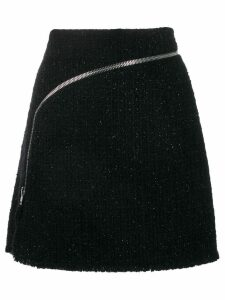 Alexander Wang zipper a-line skirt - Black