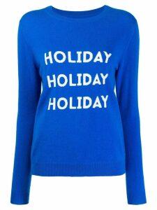 Chinti & Parker Holiday sweater - Blue