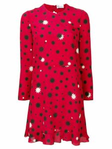 Red Valentino RED Valentino star print shift dress