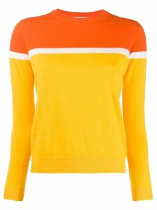 Chinti & Parker two tone sweater - Yellow