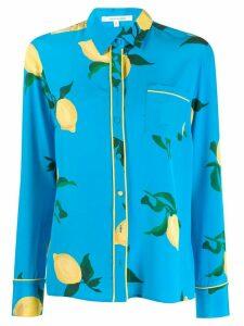 Chinti & Parker lemon shirt - Blue